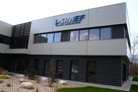 Nouveau bâtiment de SIMEF Industrie - 73420 MERY